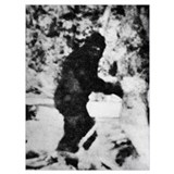 Bigfoot Wrapped Canvas Art