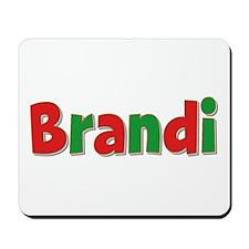 Brandi Christmas Mousepad