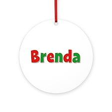 Brenda Christmas Round Ornament