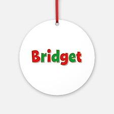 Bridget Christmas Round Ornament