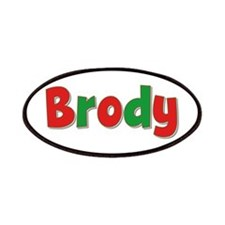 Brody Christmas Patch