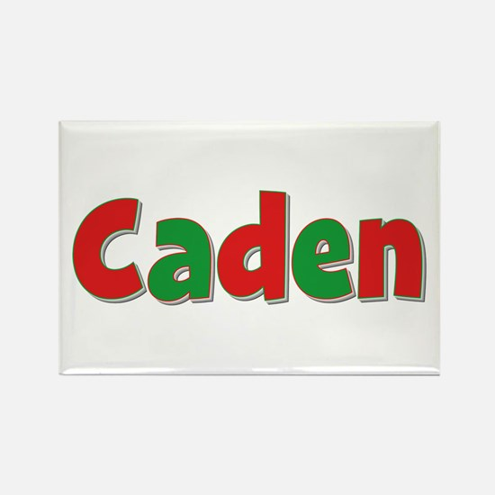 Caden Christmas Rectangle Magnet