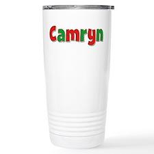 Camryn Christmas Travel Coffee Mug