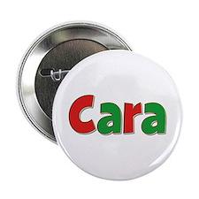 Cara Christmas Button