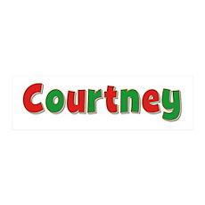 Courtney Christmas 36x11 Wall Peel