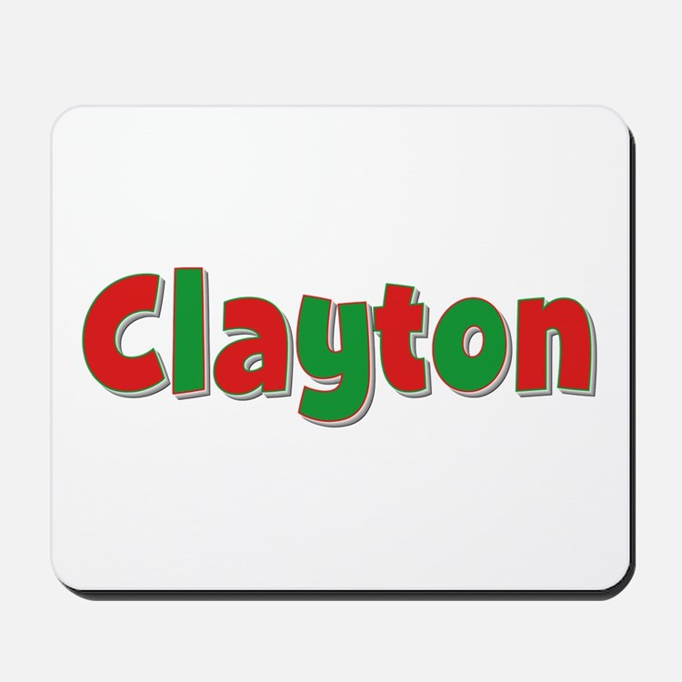 Clayton Christmas Mousepad