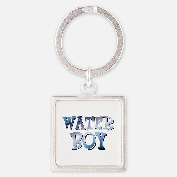 Water Boy Waterboy Square Keychain