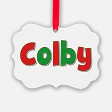 Colby Christmas Ornament