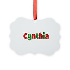 Cynthia Christmas Ornament