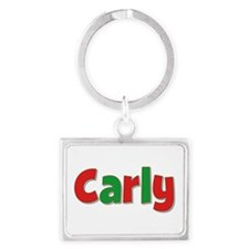 Carly Christmas Landscape Keychain