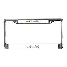 Cat dog License Plate Frame