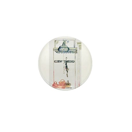 Cafe Mini Button (100 pack)