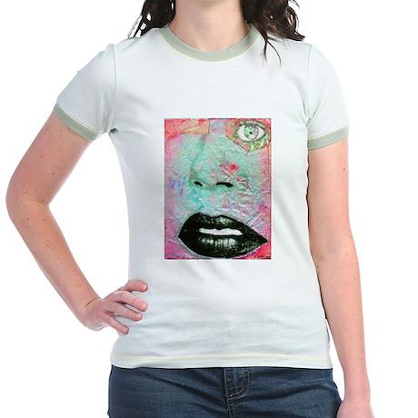 Collage Jr. Ringer T-Shirt