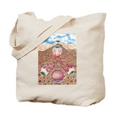 Eyes under earth Tote Bag