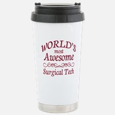 Awesome Surgical Tech Travel Mug