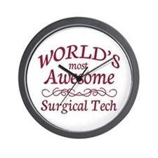 Awesome Surgical Tech Wall Clock