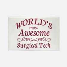 Awesome Surgical Tech Rectangle Magnet