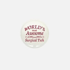 Awesome Surgical Tech Mini Button (100 pack)