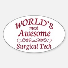 Awesome Surgical Tech Decal
