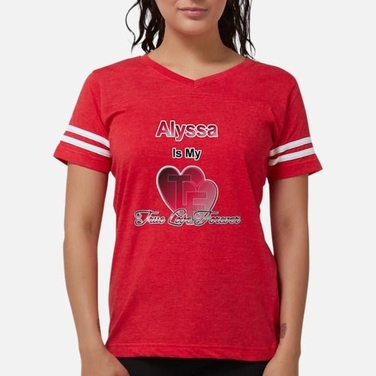 AlyssaTLF2.png Womens Football Shirt