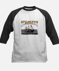 Give Me Your Booty t-shirt sh Kids Baseball Jersey