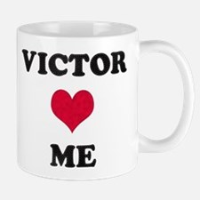 Victor Loves Me Small Small Mug