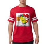save the PLANET.png Mens Football Shirt