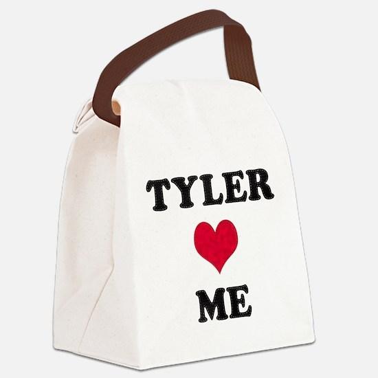 Tyler Loves Me Canvas Lunch Bag