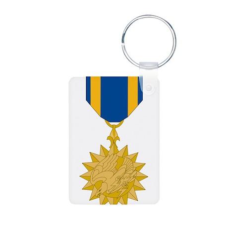 Air Medal Aluminum Photo Keychain