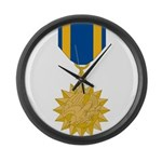 Air Medal Large Wall Clock