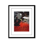 Join the Army Air Service Framed Panel Print