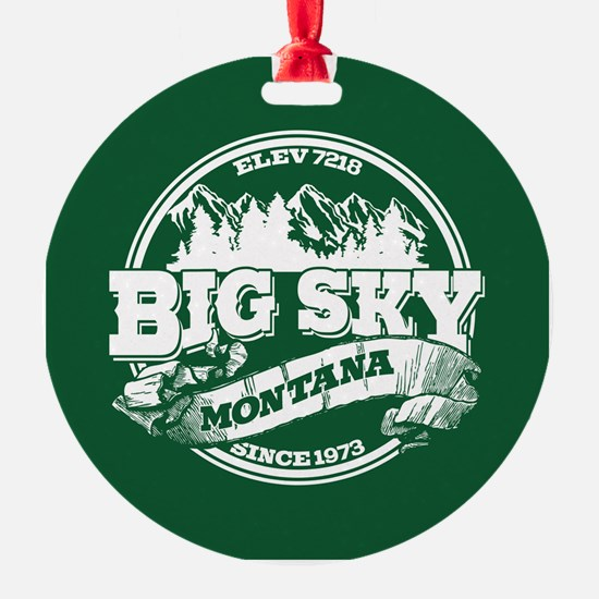 Big Sky Old Circle Ornament