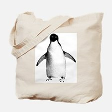Adelie Penguin Graphic Tote Bag