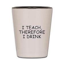 Cute Love teaching Shot Glass