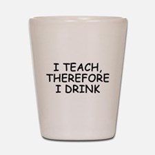 Funny Love teaching Shot Glass