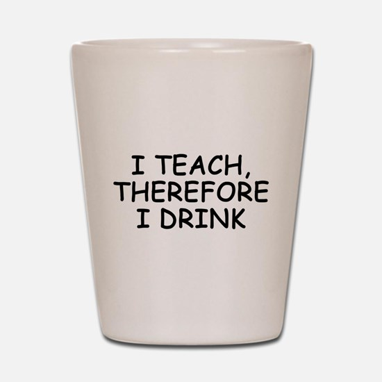 Funny School Shot Glass
