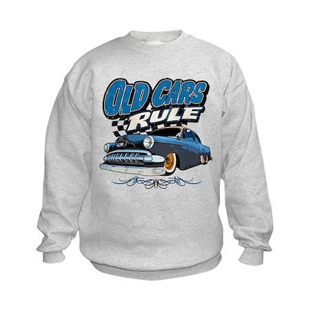 Old Cars Rule - Low Kids Sweatshirt