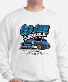 Old Cars Rule - Low Sweatshirt