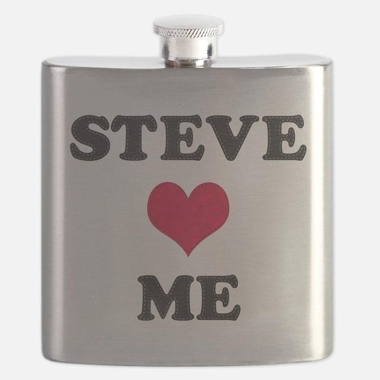 Steve Loves Me Flask