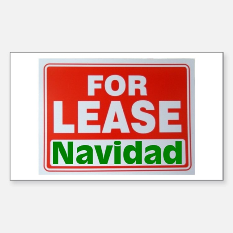 For Lease Navidad Decal