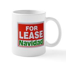 For Lease Navidad Mug
