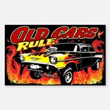 Old Cars Rule - Gasser Decal