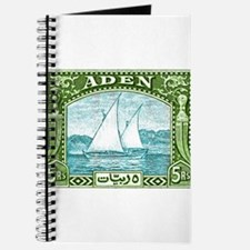 1937 Aden Dhow Boat Postage Stamp Journal