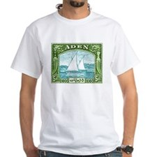 1937 Aden Dhow Boat Postage Stamp Shirt