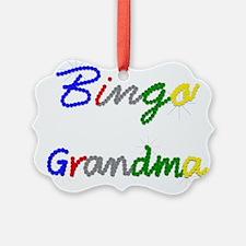 Bingo Grandma Ornament