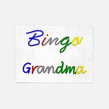 Bingo Grandma 5'x7'Area Rug
