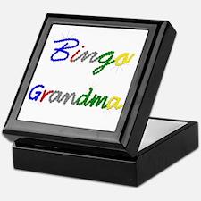 Bingo Grandma Keepsake Box