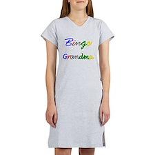 Bingo Grandma Women's Nightshirt