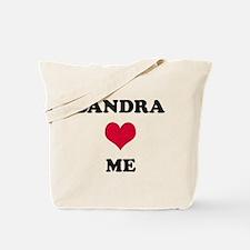Sandra Loves Me Tote Bag