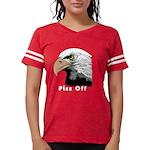 piss off black eagle copy.pn Womens Football Shirt